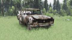 Moskvich 2140 S. T. A. L. K. E. R. v1.1 for Spin Tires