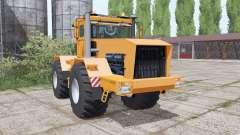 Kirovets K-701 is a soft orange for Farming Simulator 2017