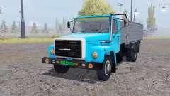 GAZ 3309 animation parts v2.0 for Farming Simulator 2013