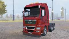 MAN TGX 6x6 v1.1 for Farming Simulator 2013