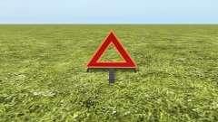 Warning triangle for Farming Simulator 2017