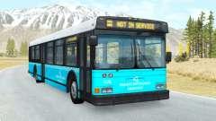 Wentward DT40L Turkish Municipal Bus skin v1.2 for BeamNG Drive