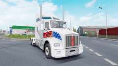 Kenworth T800 AeroCab v1.7 for Euro Truck Simulator 2