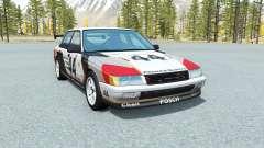 Ibishu Pessima Quattro Racing skin for BeamNG Drive