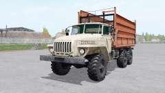 Ural 5557 trailer for Farming Simulator 2017