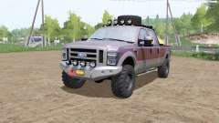 Ford F-250 Super Duty FX4 King Ranch service for Farming Simulator 2017