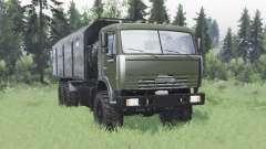 KamAZ 43118 long base for Spin Tires