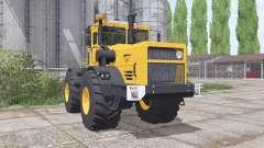 Kirovets K-700A yellow for Farming Simulator 2017