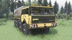 Tatra T813 TP 8x8 1967 v1.4 for Spin Tires