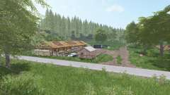 Upper Lusatia v1.1 for Farming Simulator 2017