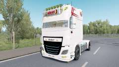DAF XF Super Space Cab custom for Euro Truck Simulator 2