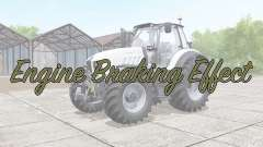 Engine Braking Effect v2.0 for Farming Simulator 2017