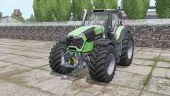 Deutz-Fahr Agrotron 9340 TTV Power Engine for Farming Simulator 2017
