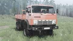 KamAZ 4310 6x6 soft-red for MudRunner