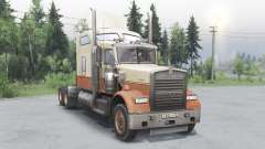 Kenworth W900 timber truck for Spin Tires