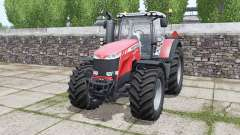Massey Ferguson 8732 More Realistic for Farming Simulator 2017