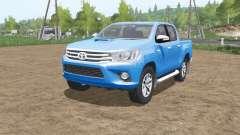 Toyota Hilux 4x4 Double Cab 2015 for Farming Simulator 2017