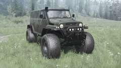 UAZ Bear camo for MudRunner
