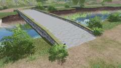 Concrete bridge v1.0.0.1 for Farming Simulator 2017