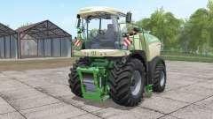 Krone BiG X 580 with bunker for Farming Simulator 2017