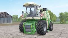 Krone BiG X 1100 with bunker for Farming Simulator 2017