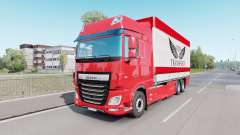 DAF XF Space Cab Tаndem for Euro Truck Simulator 2