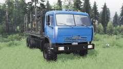 KamAZ 43118 long base v1.1 for Spin Tires