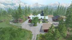 Southern Norway v1.2 for Farming Simulator 2015