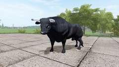 Black bull for Farming Simulator 2017