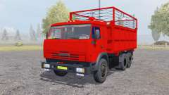 KamAZ 55102 with a trailer for Farming Simulator 2013