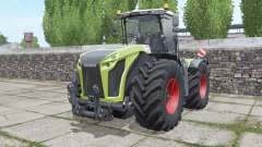 CLAAS Xerion 4000 Trac VC narrow twin wheels for Farming Simulator 2017
