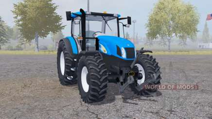 New Holland T6030 front loader for Farming Simulator 2013