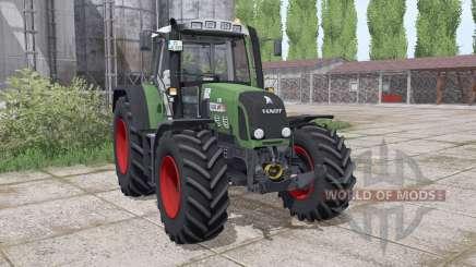 Fendt 820 Vario TMS lоader mounting for Farming Simulator 2017