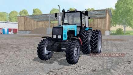 MTZ-1221 Belarus tractor rear dual wheels for Farming Simulator 2015