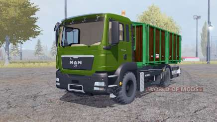 MAN TGS tipper for Farming Simulator 2013