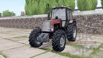 MTZ-1221 Belarus with interactive controls for Farming Simulator 2017