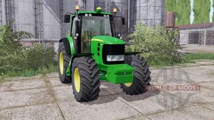John Deere 7430 Premium 2007 washable for Farming Simulator 2017