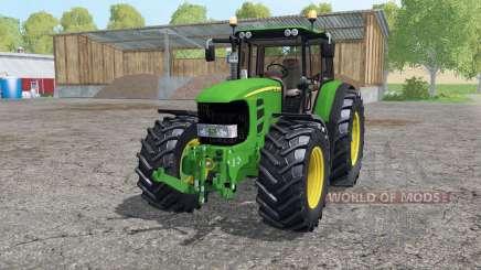 John Deere 7530 Premium аnimation parts for Farming Simulator 2015