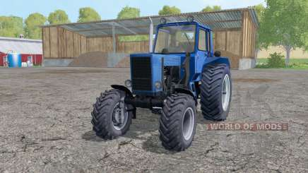 MTZ 82 Belarus with mount loader for Farming Simulator 2015