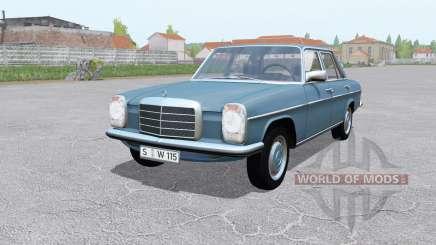 Mercedes-Benz 200D (W115) 1968 for Farming Simulator 2017