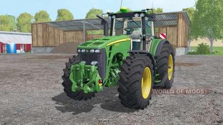 John Deere 8530 whеels weights for Farming Simulator 2015