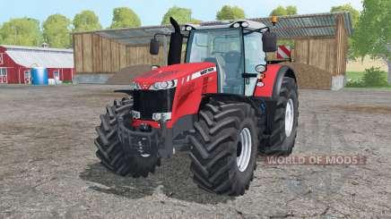 Massey Ferguson 8737 interactive control for Farming Simulator 2015