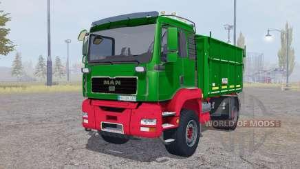 MAN TGA tipper Agroliner for Farming Simulator 2013