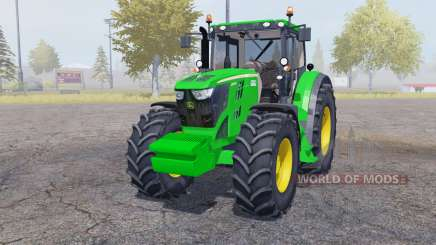 John Deere 6210R weight for Farming Simulator 2013