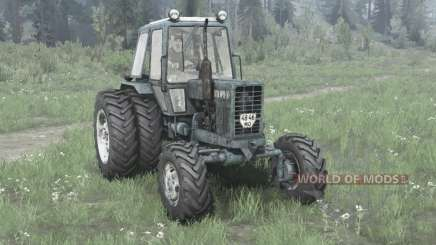 MTZ Belarus 82.1 / dual wheels for MudRunner