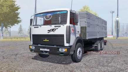 MAZ 6303А5-320 v2.0 for Farming Simulator 2013