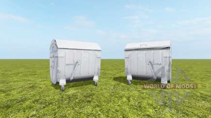 Waste container for Farming Simulator 2017