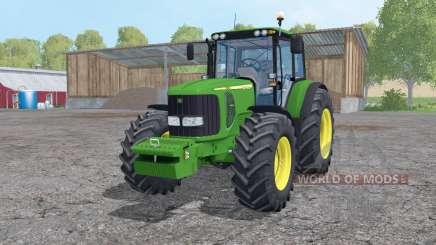 John Deere 7520 loader mounting for Farming Simulator 2015