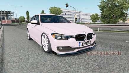 BMW 320i (F30) 2015 for Euro Truck Simulator 2