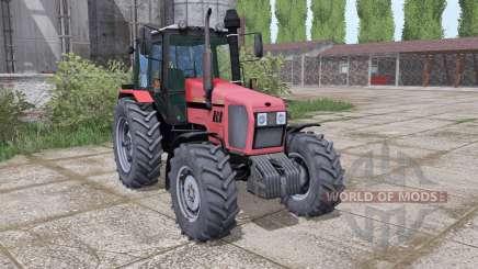 MTZ Belarus 1221.2 soft-red for Farming Simulator 2017